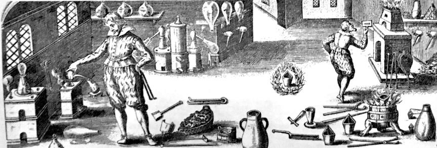 Alchemie Grundlagen. Was ist Spagyrik?