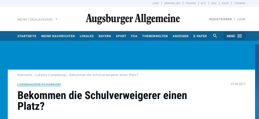 שלח את עמי Shalach et Ami. Presseverhöhnung von Sudburyschülern!